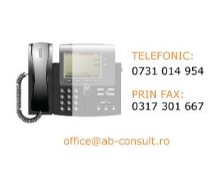 Contact AB Consult pentru Consultanta Certificare
